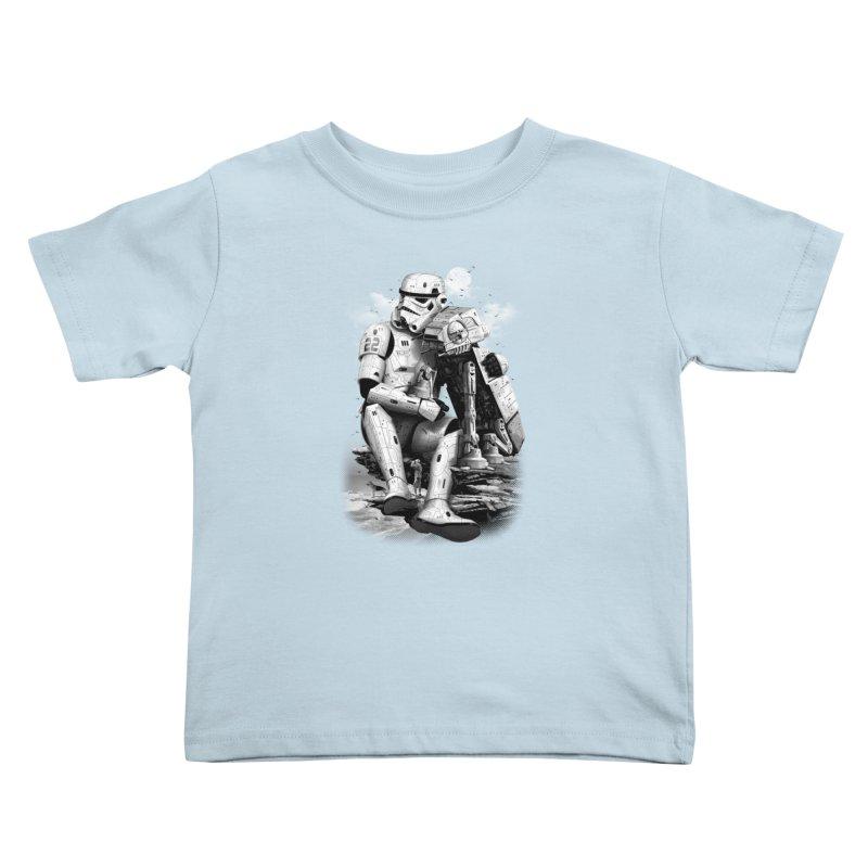 BY THE BEACH Kids Toddler T-Shirt by gallerianarniaz's Artist Shop