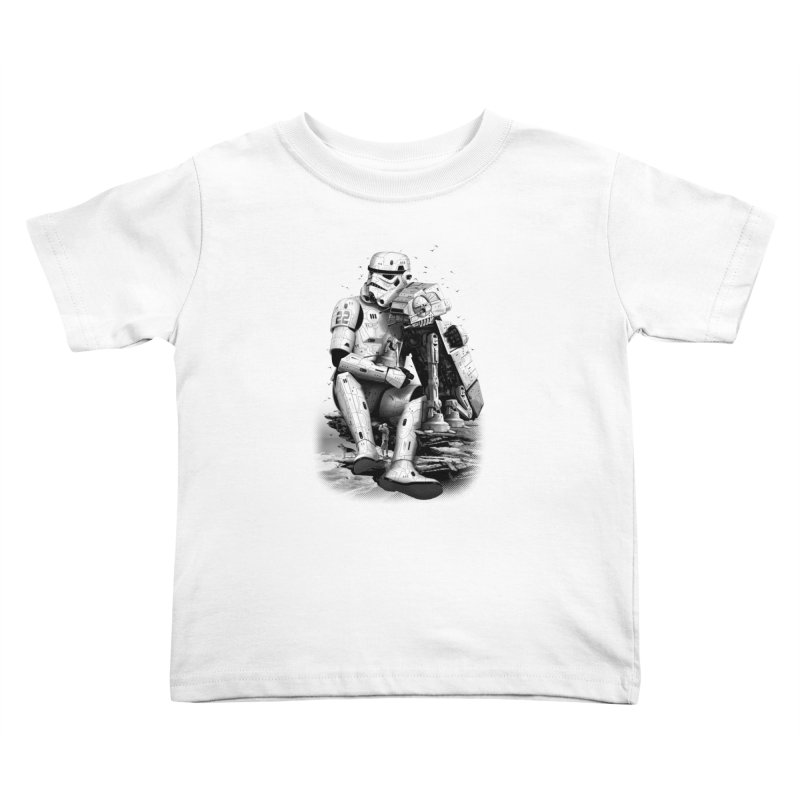 BY THE BEACH Kids Toddler T-Shirt by gallerianarniaz's Artist Shop