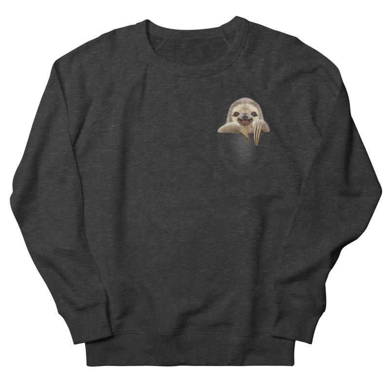 POCKET SLOTH Women's Sweatshirt by gallerianarniaz's Artist Shop