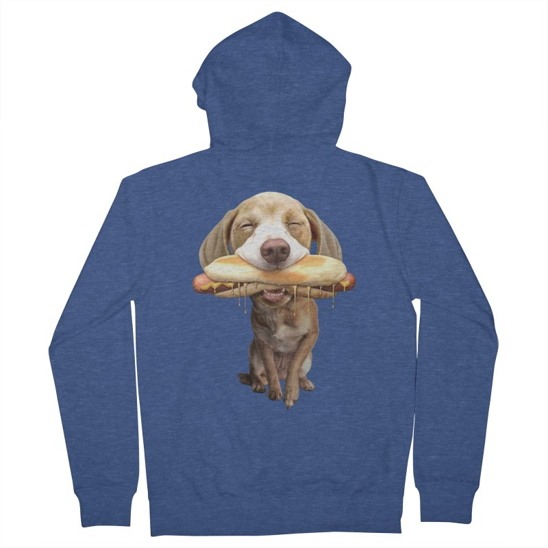 HOTDOG Women's Zip-Up Hoody by gallerianarniaz's Artist Shop