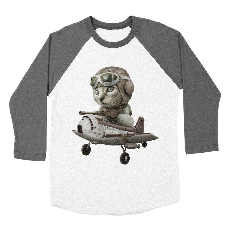 KAT67 Women's Baseball Triblend T-Shirt by gallerianarniaz's Artist Shop