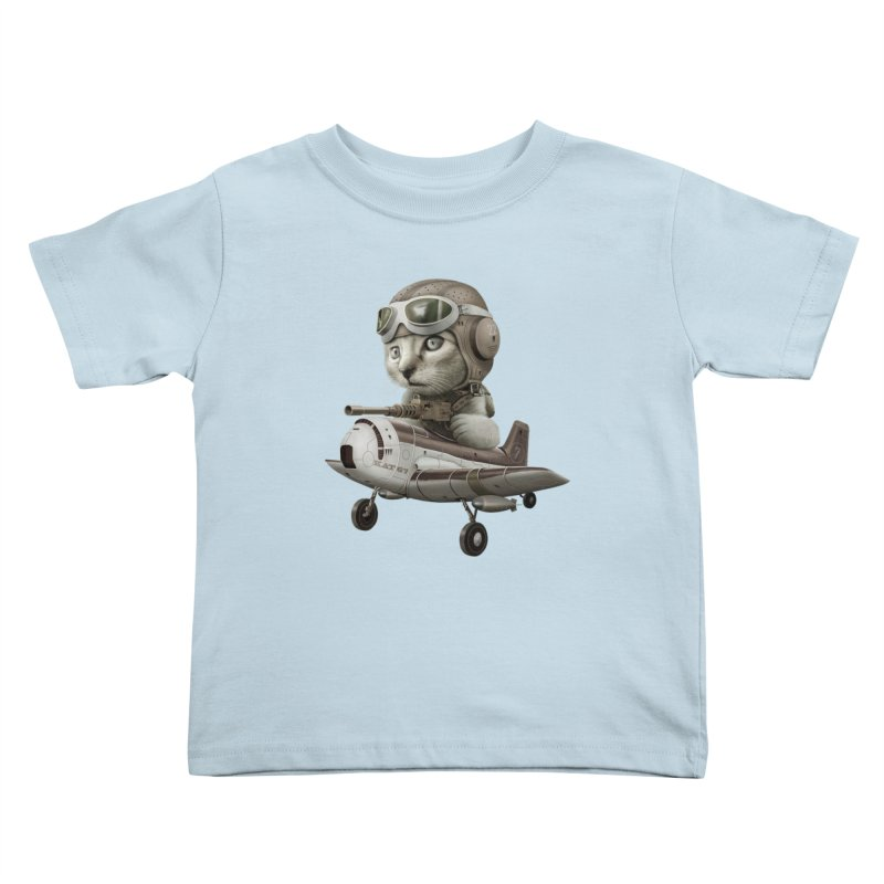 KAT67 Kids Toddler T-Shirt by gallerianarniaz's Artist Shop