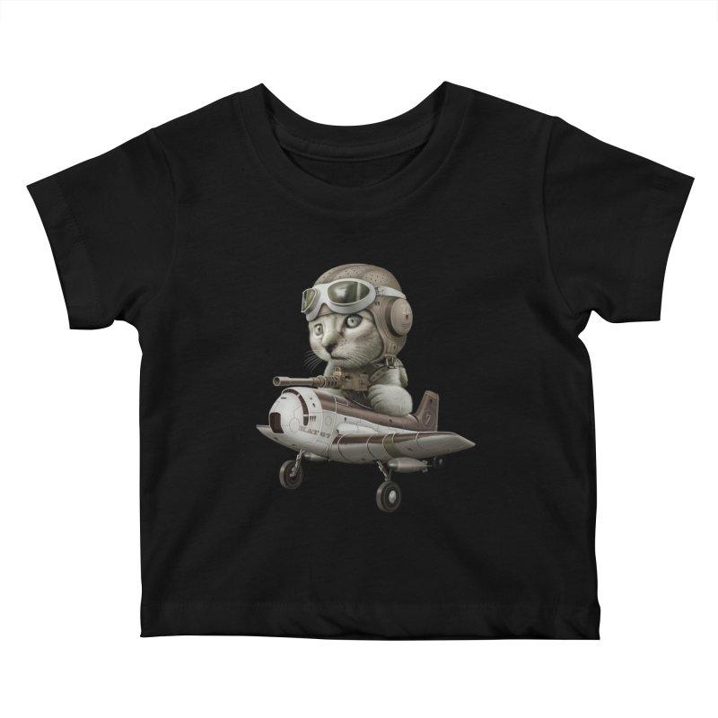 KAT67 Kids Baby T-Shirt by gallerianarniaz's Artist Shop