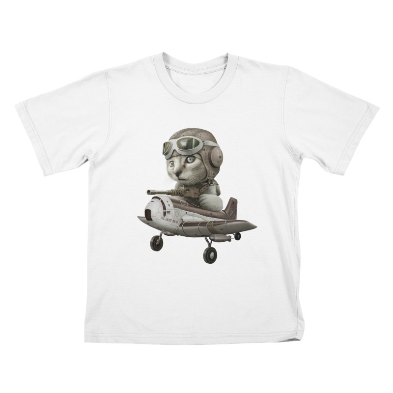 KAT67 Kids T-shirt by gallerianarniaz's Artist Shop