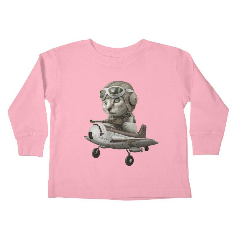 KAT67 Kids Toddler Longsleeve T-Shirt by gallerianarniaz's Artist Shop