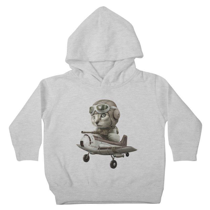 KAT67 Kids Toddler Pullover Hoody by gallerianarniaz's Artist Shop
