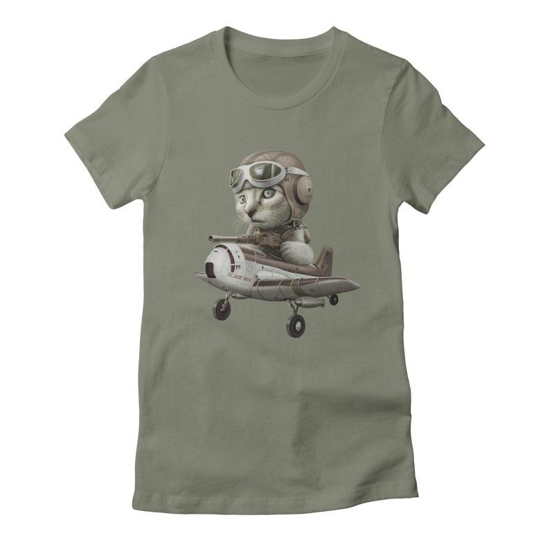 KAT67 Women's Fitted T-Shirt by gallerianarniaz's Artist Shop