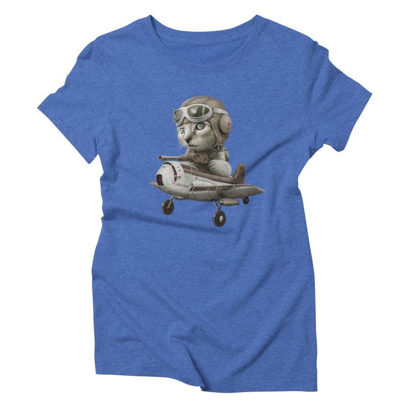 KAT67 Women's Triblend T-shirt by gallerianarniaz's Artist Shop
