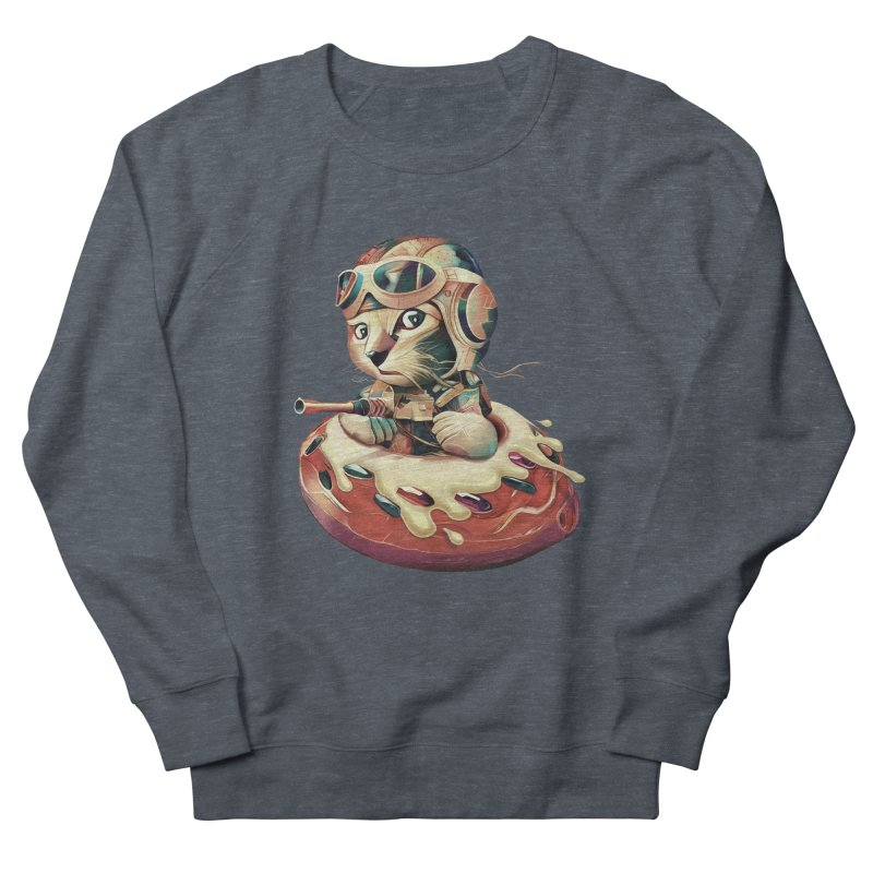 DONUT FIGHTER Women's Sweatshirt by gallerianarniaz's Artist Shop