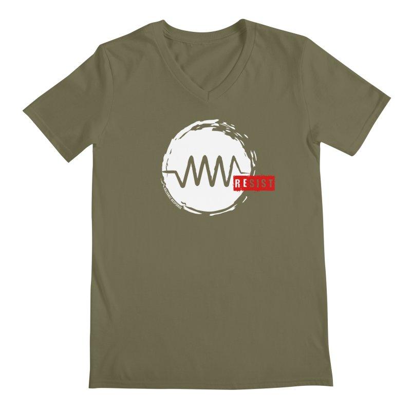 Resist Men's V-Neck by Resist Symbol