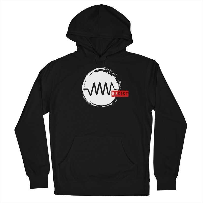 Resist in Women's Pullover Hoody Black by Resist Symbol