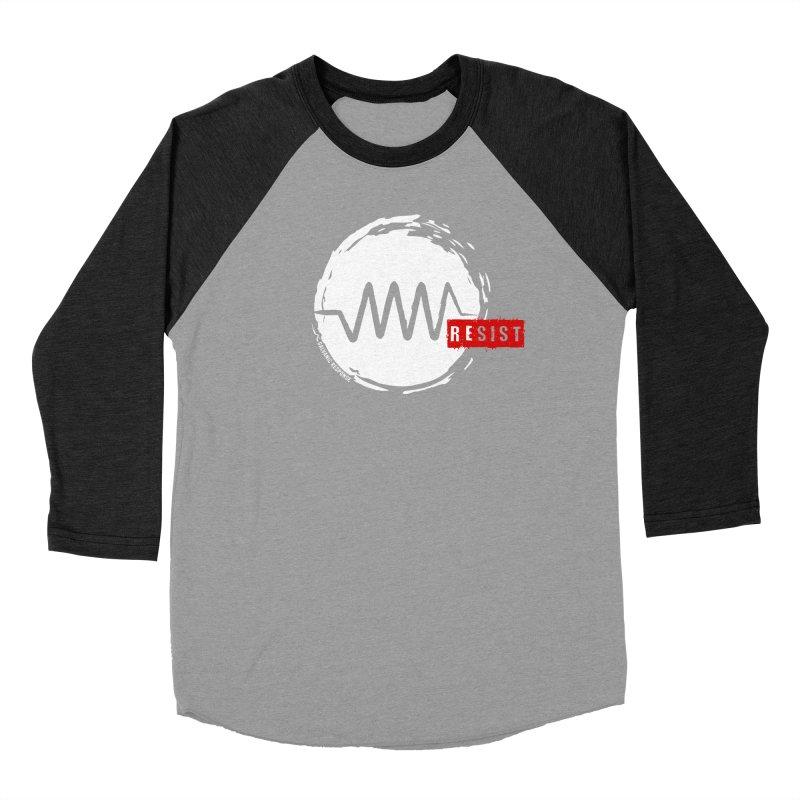 Resist Men's Baseball Triblend T-Shirt by Resist Symbol