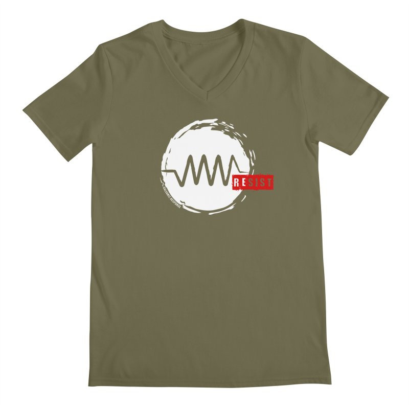 Resist Men's Regular V-Neck by Resist Symbol