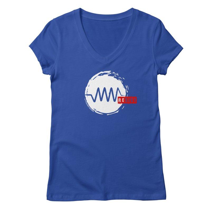Resist Women's V-Neck by Resist Symbol