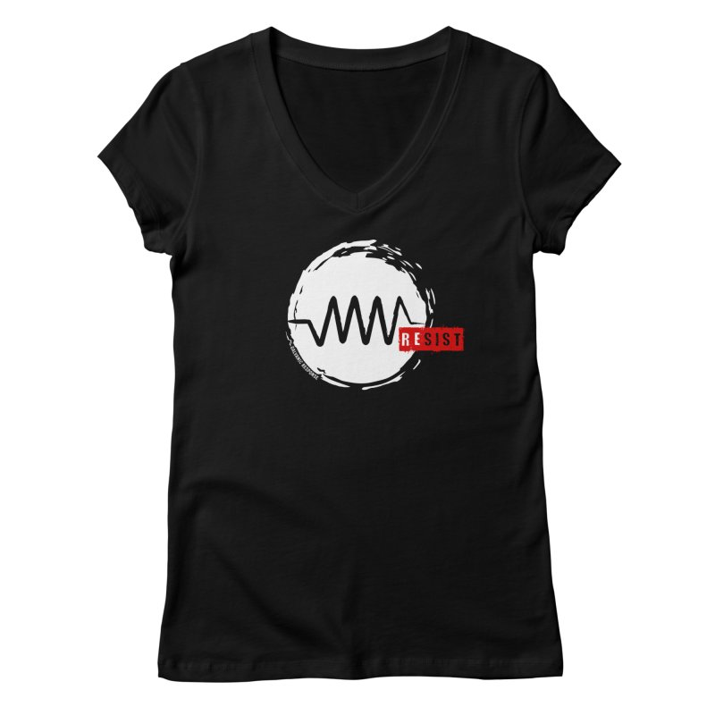 Resist Women's V-Neck by Resist Symbol
