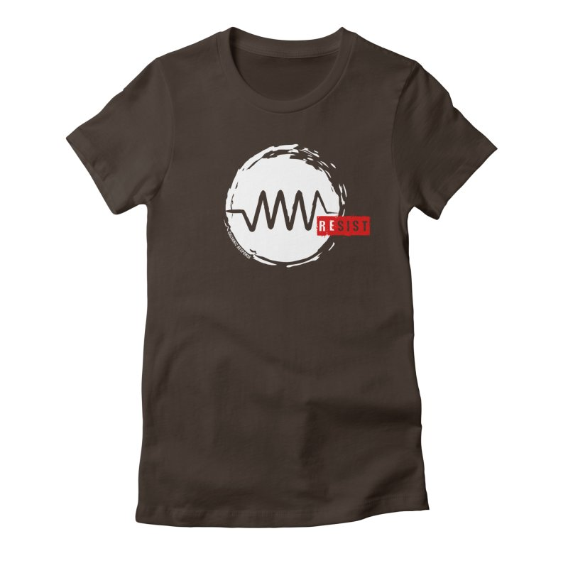 Resist Women's Fitted T-Shirt by Resist Symbol