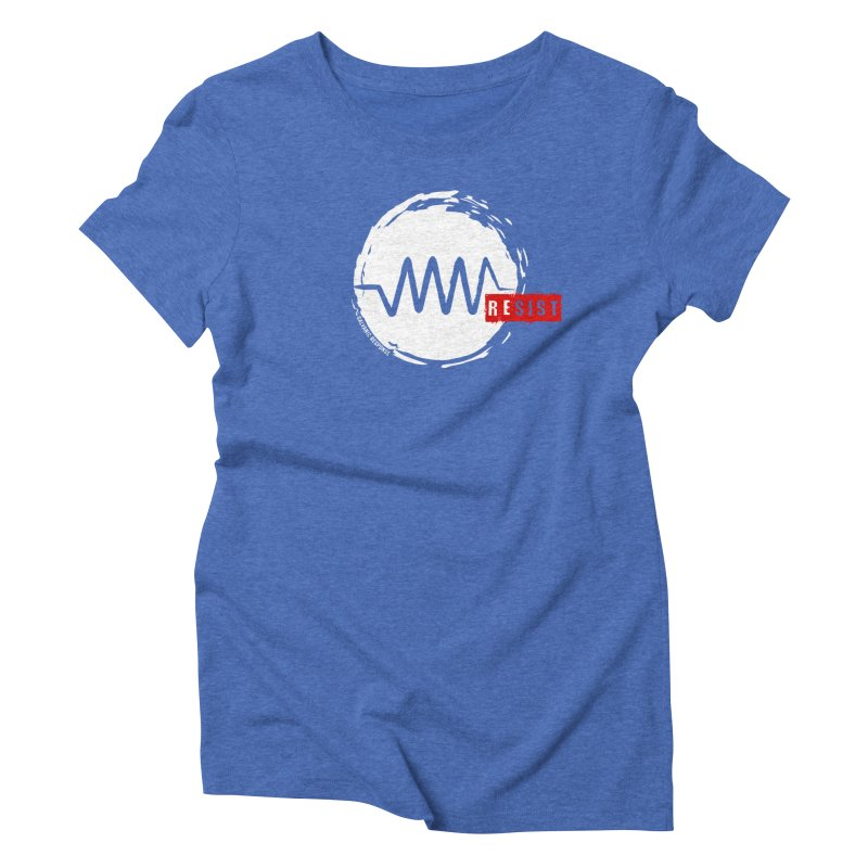 Resist Women's Triblend T-Shirt by Resist Symbol