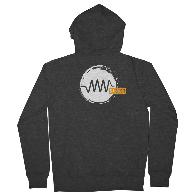 Resist (alternate) Men's Zip-Up Hoody by Resist Symbol