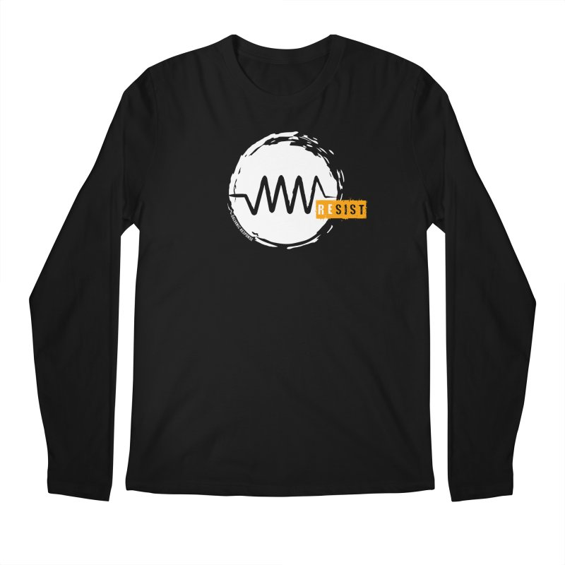 Resist (alternate) Men's Regular Longsleeve T-Shirt by Resist Symbol