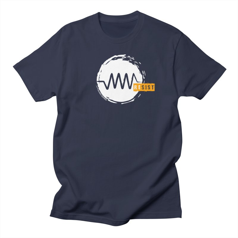 Resist (alternate) in Women's Unisex T-Shirt Navy by Resist Symbol