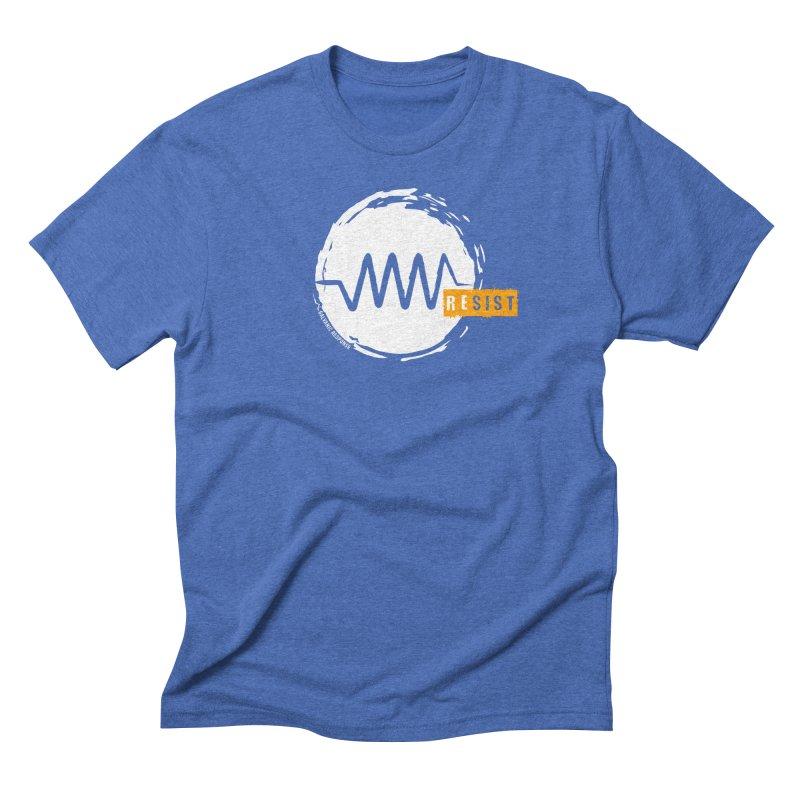 Resist (alternate) Men's Triblend T-Shirt by Resist Symbol