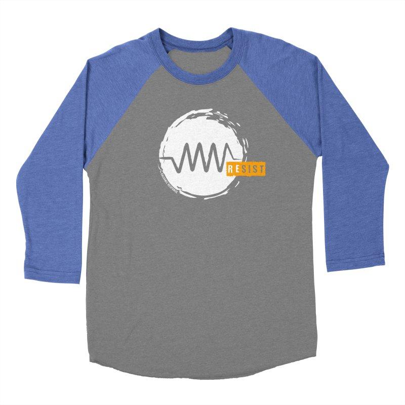 Resist (alternate) Women's Baseball Triblend Longsleeve T-Shirt by Resist Symbol