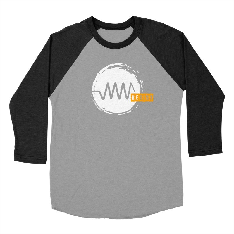 Resist (alternate) Men's Baseball Triblend Longsleeve T-Shirt by Resist Symbol