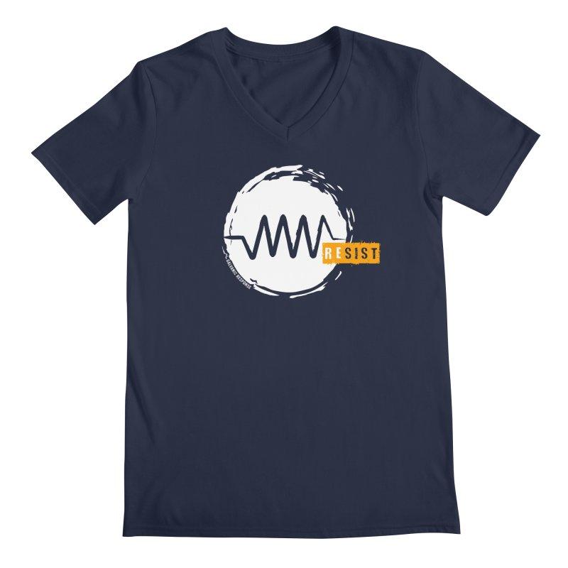 Resist (alternate) Men's Regular V-Neck by Resist Symbol