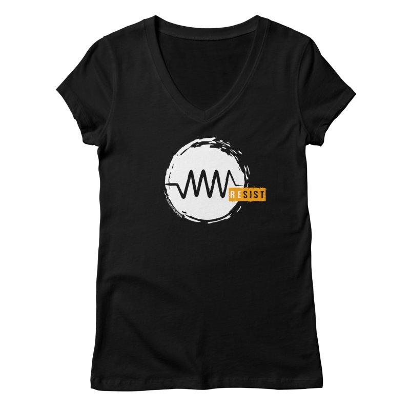Resist (alternate) Women's V-Neck by Resist Symbol