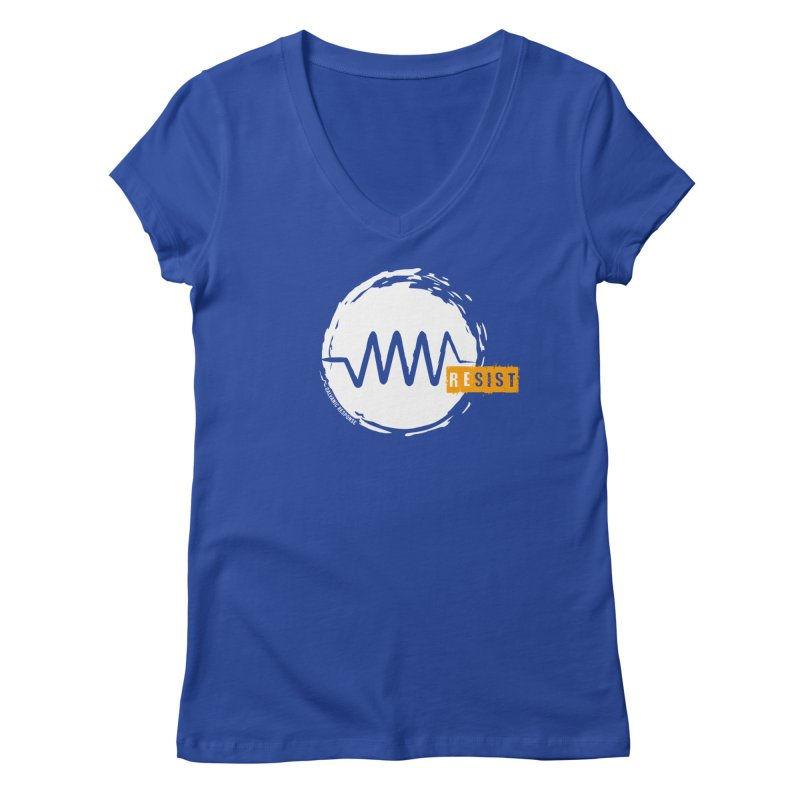 Resist (alternate) Women's Regular V-Neck by Resist Symbol