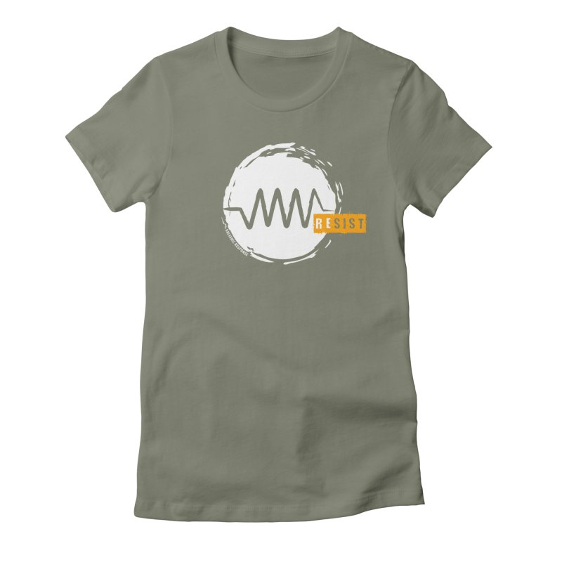 Resist (alternate) Women's Fitted T-Shirt by Resist Symbol