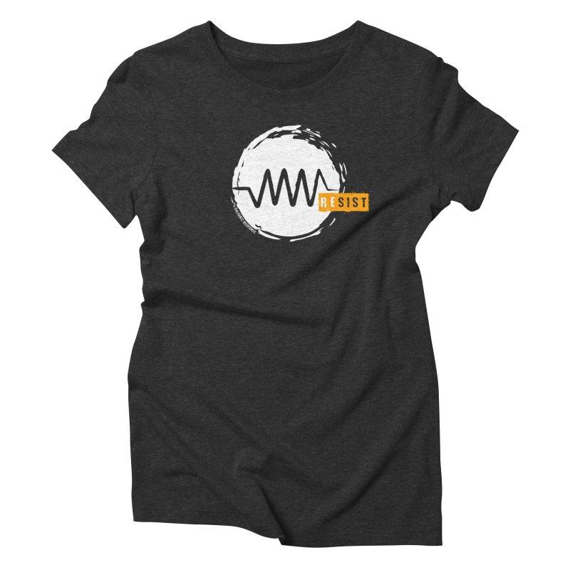 Resist (alternate) Women's Triblend T-Shirt by Resist Symbol