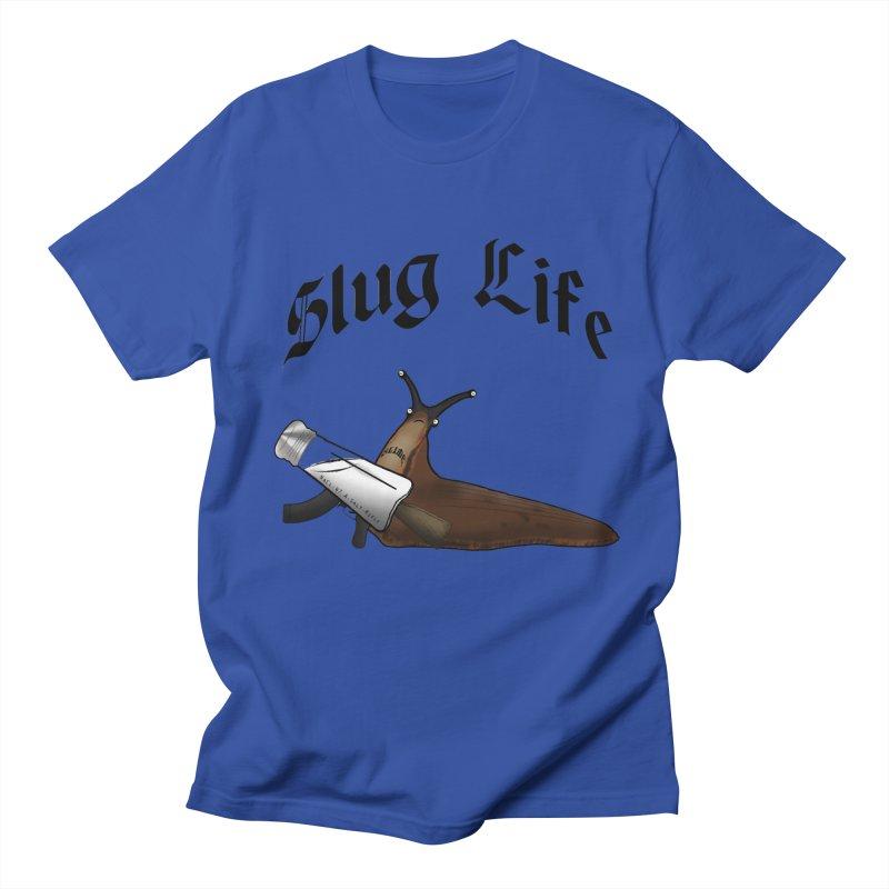 Slug Life Men's T-Shirt by Gamble's Artist Shop