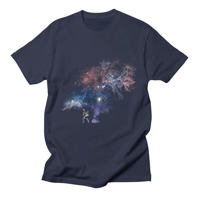 Earth Arrogance Men's Regular T-Shirt by Gamble's Artist Shop