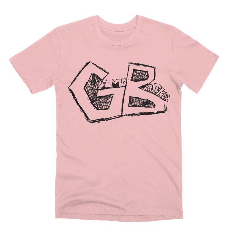 GameBr8ker Scribble Men's Premium T-Shirt by GameBr8ker Artist Shop