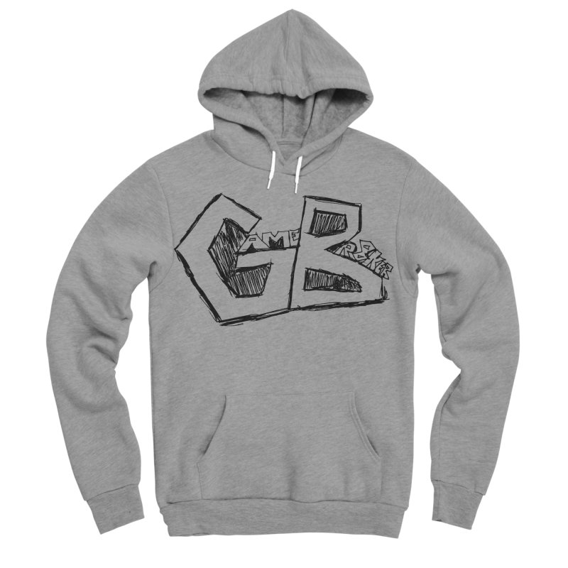 GameBr8ker Scribble Men's Sponge Fleece Pullover Hoody by GameBr8ker Artist Shop
