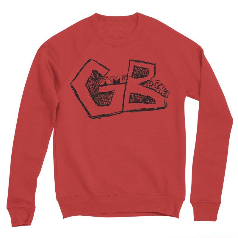 GameBr8ker Scribble Men's Sponge Fleece Sweatshirt by GameBr8ker Artist Shop