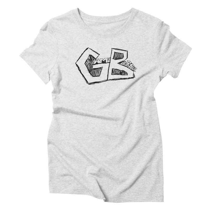 GameBr8ker Scribble Women's Triblend T-Shirt by GameBr8ker Artist Shop