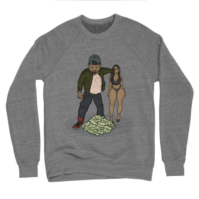 No Love But Money Women's Sponge Fleece Sweatshirt by GameBr8ker Artist Shop