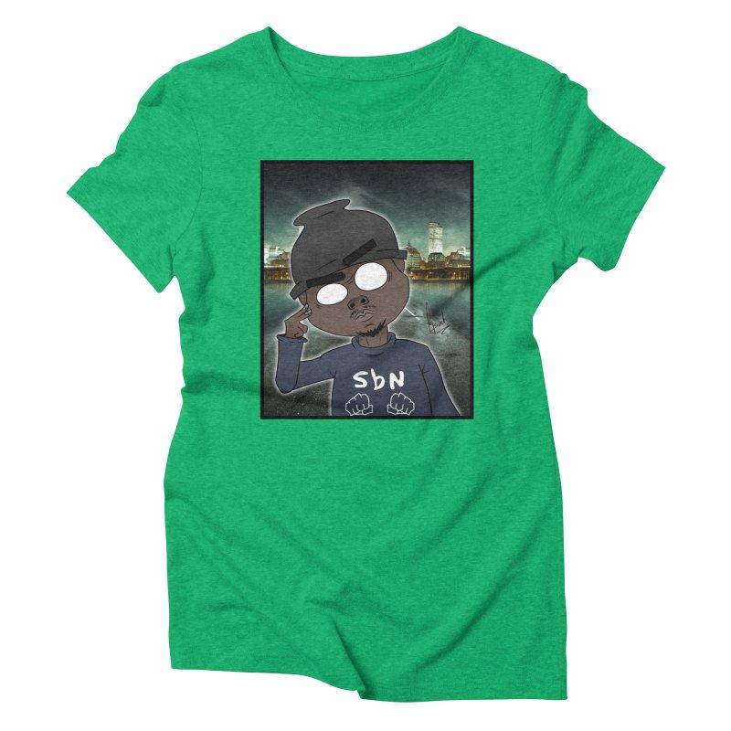 GameBr8ker Gorillaz Style Women's Triblend T-Shirt by GameBr8ker Artist Shop