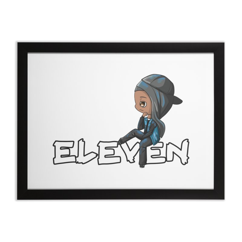 Eleven Home Framed Fine Art Print by GameBr8ker Artist Shop