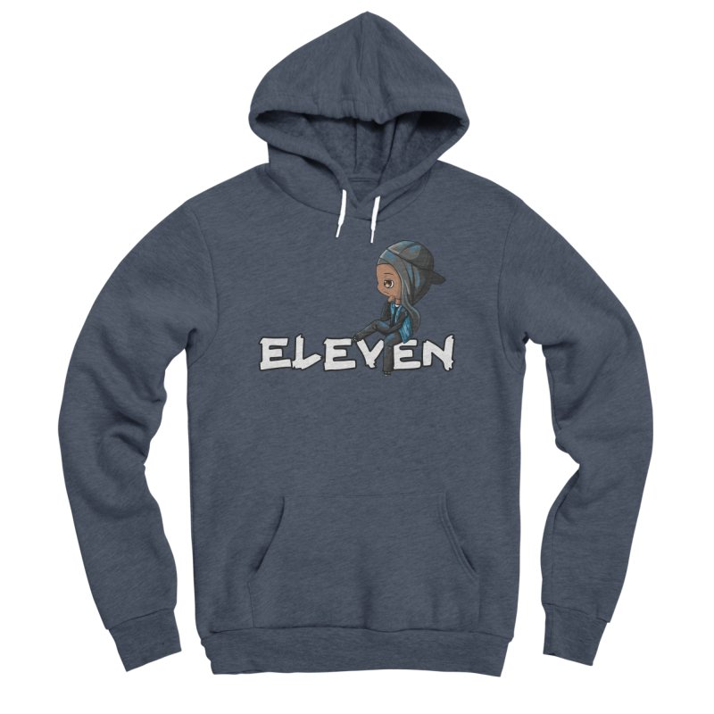 Eleven Men's Sponge Fleece Pullover Hoody by GameBr8ker Artist Shop