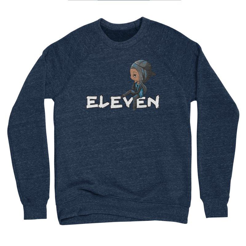 Eleven Men's Sponge Fleece Sweatshirt by GameBr8ker Artist Shop