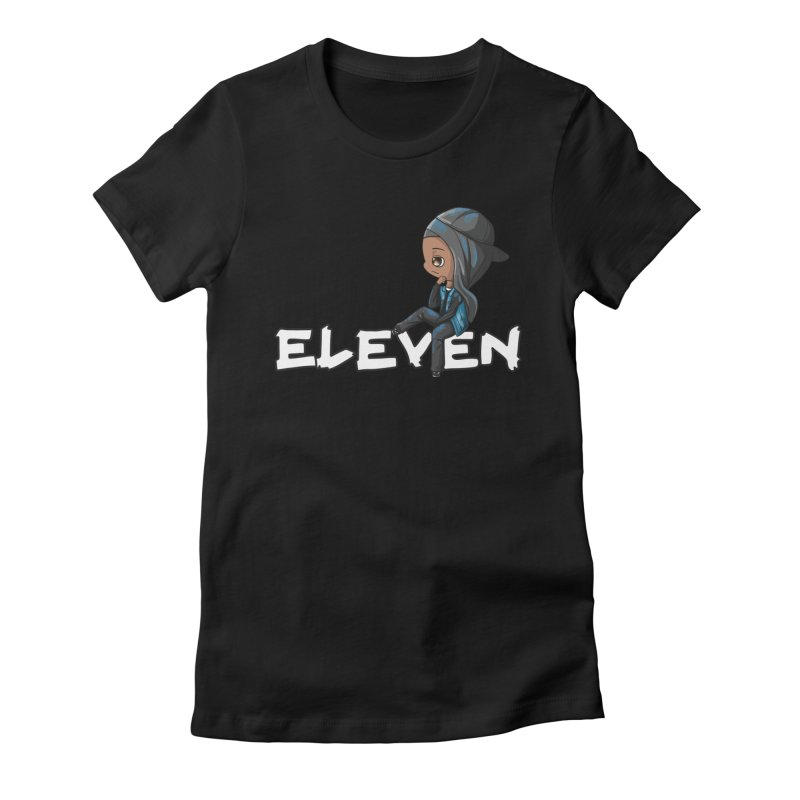 Eleven Women's Fitted T-Shirt by GameBr8ker Artist Shop