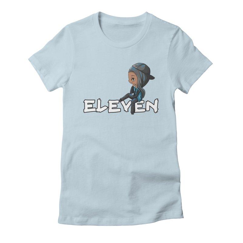 Eleven Women's Fitted T-Shirt by GameBr8ker Artist Shop