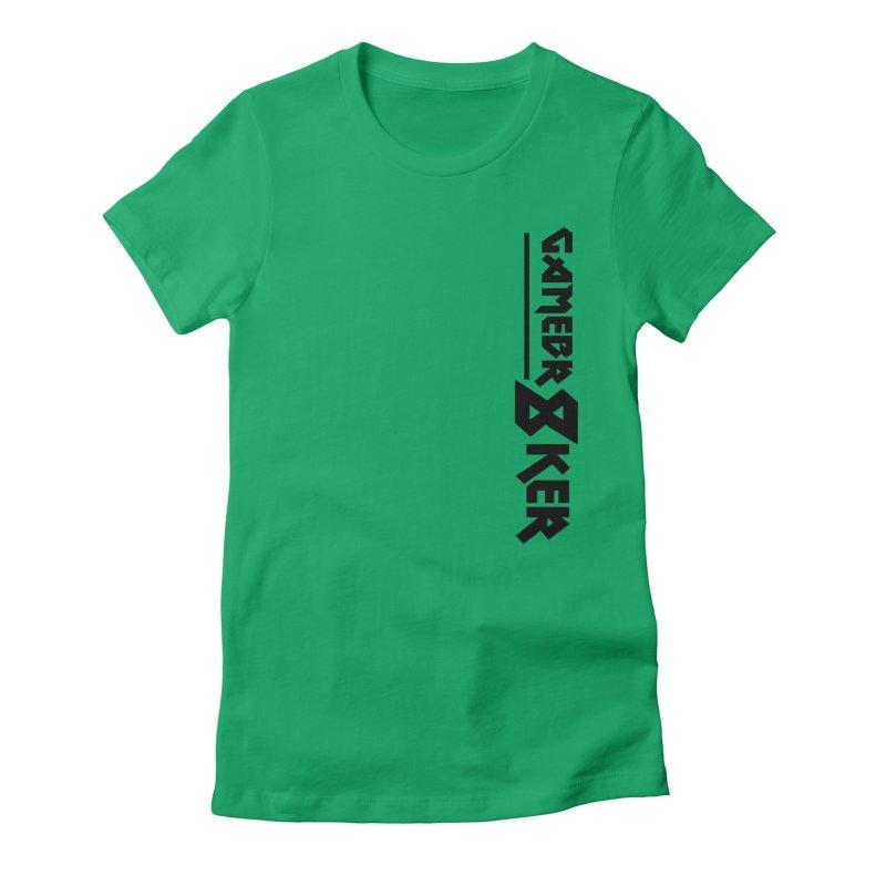 GameBr8ker Women's Fitted T-Shirt by GameBr8ker Artist Shop