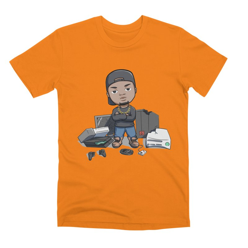 Game Breaker Men's Premium T-Shirt by GameBr8ker Artist Shop