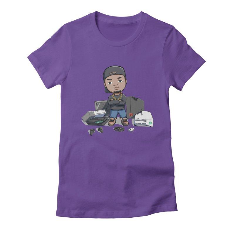 Game Breaker Women's Fitted T-Shirt by GameBr8ker Artist Shop
