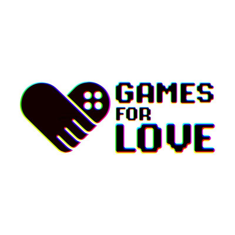 Women's GFL Logo w/ Side Text- Color Women's T-Shirt by Games For Love