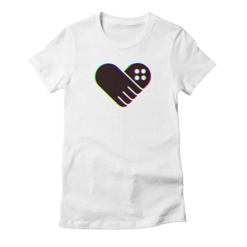 Women's GFL Heart Logo- Color Women's T-Shirt by Games For Love